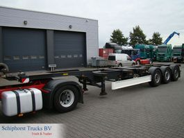 container chassis oplegger Fliegl 3 axle container trailer 2003