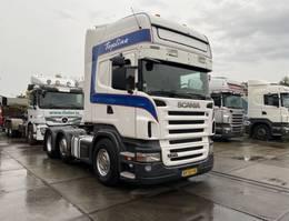 standaard trekker Scania R 400 6X2 - RETARDER - 3 PEDALS - EURO 5 - 2X TANK - HOLLAND TRUCK 2009