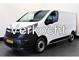 gesloten bestelwagen Opel Vivaro 1.6 CDTI 120PK - Airco - Navi - Cruise - € 8.950,- Ex. 2016
