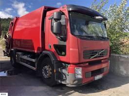 vuilniswagen vrachtwagen Volvo FE 1 chamber compactor (NTM) 2011