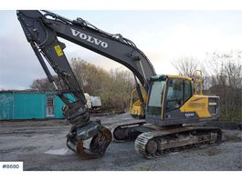 rupsgraafmachine Volvo EC 220 EL w / rotary pinch, hydr. cleaning bucket 2015