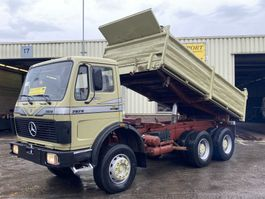 kipper vrachtwagen > 7.5 t Mercedes-Benz 2628 Kipper 6x4 V8 ZF Good Condition 1985
