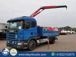 platform vrachtwagen Scania R124-400 fassi f95a.21 manual 1999