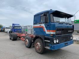 chassis cabine vrachtwagen DAF 3600 ati  8x2 1987