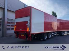 gesloten opbouw aanhanger Netam-Fruehauf 2as Drum / Box / Loadlift 1500 kg / COMBI 1998