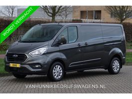 gesloten bestelwagen Ford Transit Custom 300L 170PK Limited Aut €379 / Maand Airco Cruise Camera, Navi, 2x... 2020