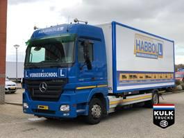 bakwagen vrachtwagen > 7.5 t Mercedes-Benz Actros 1836 LL / BDF / BOX KOFFER / LES ECOLE / EURO 5 2007