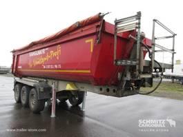 kipper oplegger Schmitz Cargobull Kipper Staal rond 24m³ 2012