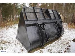 uitrusting overig Large bucket for wheel loader, BM quick coupling &