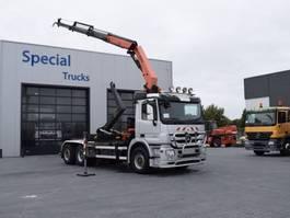 containersysteem vrachtwagen Mercedes-Benz Actros 2541 6X2 (Stuuras) Euro 5 2009