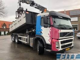 kipper vrachtwagen > 7.5 t Volvo FM9 /300 6X2 kipper kraan 2007