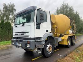betonmixer vrachtwagen Iveco 260E31 6x4 MANUAL ZF STEEL 1999