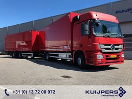 bakwagen vrachtwagen > 7.5 t Mercedes-Benz Actros 1836 1836L / MP3 / F04 / Box / Loadlift / COMBI / 729 dkm!! 2012