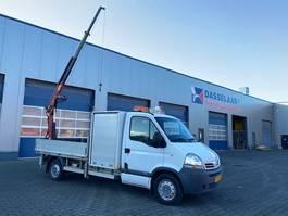 platform bedrijfswagen Nissan INTERSTAR, Palfinger 2300 A, EURO 5, 1.290 Kg Payload. Crane/Kraan/Kran,... 2011