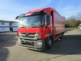 verkoop opbouw vrachtwagen Mercedes-Benz ACTROS 2541 L Getränkepritsche 8,2m LBW 2 T*LENK 2012