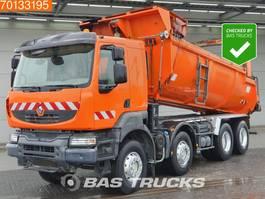 kipper vrachtwagen > 7.5 t Renault Kerax 370 8X4 Manual Intarder Big-Axle SteelSuspension 2007