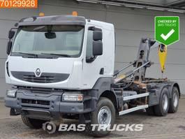 containersysteem vrachtwagen Renault Kerax 460 6X4 Retarder BigAxle Steelsuspension Euro 5 2011