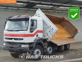 kipper vrachtwagen > 7.5 t Renault Kerax 420 8X4 Manual Intarder Big-Axle 2-Seiten Euro 3 2003