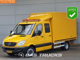 bakwagen bedrijfswagen < 7.5 t Mercedes-Benz Sprinter 516 CDI Bakwagen Kraan Mobiele werkplaats Airco Kran Werkstatt 14m3 A/C ... 2011
