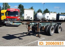 container chassis oplegger Renders 20 ft skelet 1981