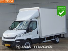 bakwagen bedrijfswagen < 7.5 t Iveco Daily 35C16 160PK Automaat Laadklep Dubbellucht Bakwagen Airco 19m3 A/C Cruise... 2018