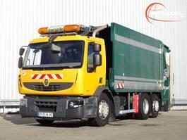 vuilniswagen vrachtwagen Renault Premium 320 DXI 6x2 Stuuras, Steeringaxle, Lenkacshe - Semat Huisvuil, Garbage, Mull... 2008
