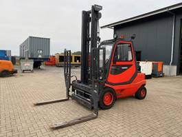 vorkheftruck Linde H35T-03 3.5 ton LPG Sideshift Positioner Vorkenverlenger Heftruck 2002