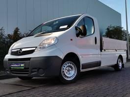 platform bedrijfswagen Opel VIVARO 2.0 cdti  open laadbak, 2012