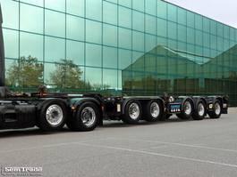 container chassis oplegger D-TEC CT 60 05D 5-AS BREKER 3x STUURAS BPW ASSEN SUPER STAAT 2009