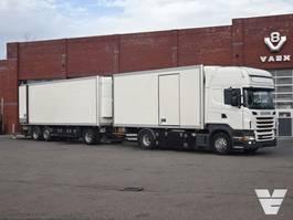 koelwagen vrachtwagen Scania R360 4x2 Frigo Thermoking - Box Krone - Truck + trailer 2012