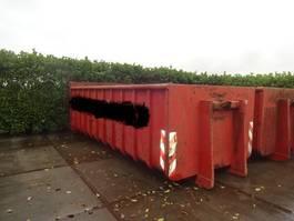 open top zeecontainer LEEUBUUR Grond/Puin