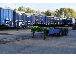 container chassis oplegger Renders containerchassis