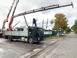 platform vrachtwagen Volvo FM9 PLATFORM + CRANE FASSI F130A.2.5 - 5x HYDR - STEEL SPRING / BLATT / LAME... 2002