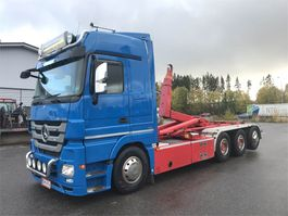 containersysteem vrachtwagen Mercedes-Benz Actros 3560 LL 8x4/4 2013