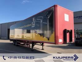 gesloten opbouw oplegger Kögel S18 / 2 axle BPW Drum / Box / APK TUV 04-2021 ! 2004