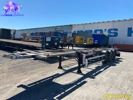 container chassis oplegger Fruehauf Container Transport 2008