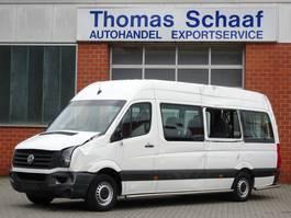 rolstoelvervoer bedrijfswagen Volkswagen Crafter Maxi 2.0 Tdi Tribus 9 Sitze Klima Rollstuhllift Euro 5 2013