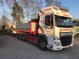 open laadbak vrachtwagen DAF CF 510 FAQ 2017