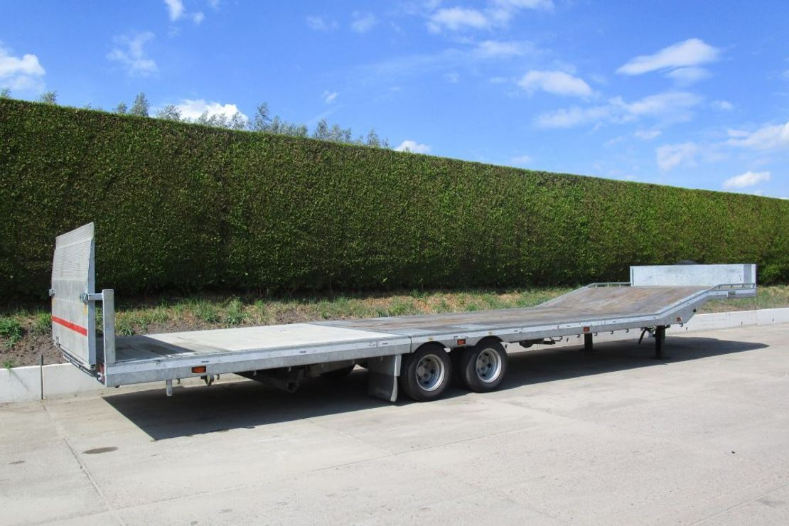 semi dieplader oplegger Veldhuizen 8,5-tons Semi-dieplader oplegger 2018