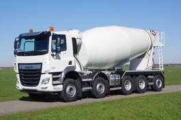 betonmixer vrachtwagen DAF CF 530 FAD 10x4 49-ton naloop as met Mulder 15 m3 beton mixer 2020