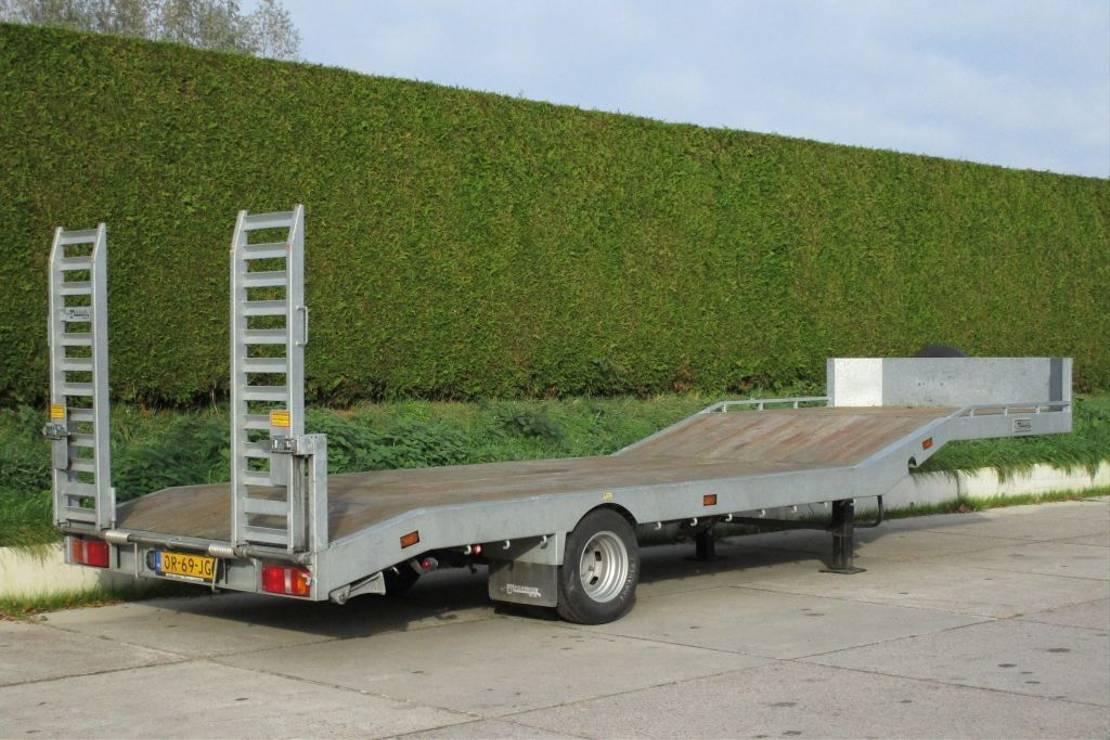 semi dieplader oplegger Veldhuizen 5,0-tons Semi-dieplader oplegger 2018