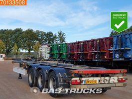 container chassis oplegger Fliegl SDS 390 3 axles 2007