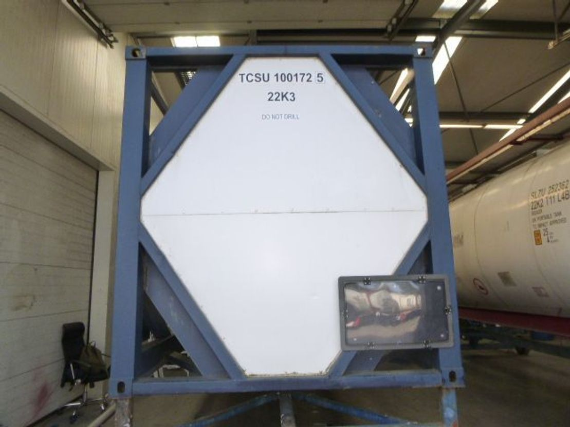 tankcontainer WEW Germany S-LAG L10DH 1996