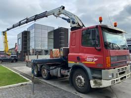 platform vrachtwagen DAF CF 85 380 6X2 MANUAL EURO 2 + GORMACH 22500E6 2004 MET REMOTE 1999