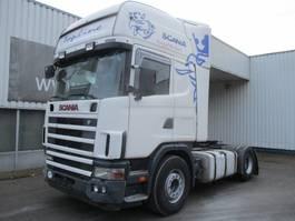 standaard trekker Scania R420 R124 L Topline , Retarder , Airco 2004