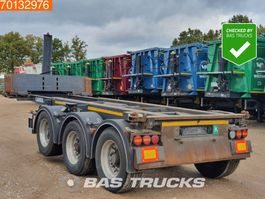 container chassis oplegger Carnehl CCS/ KT 1x 20ft. 1x 30ft. Kippchassis Ausziebar Liftachse 2010