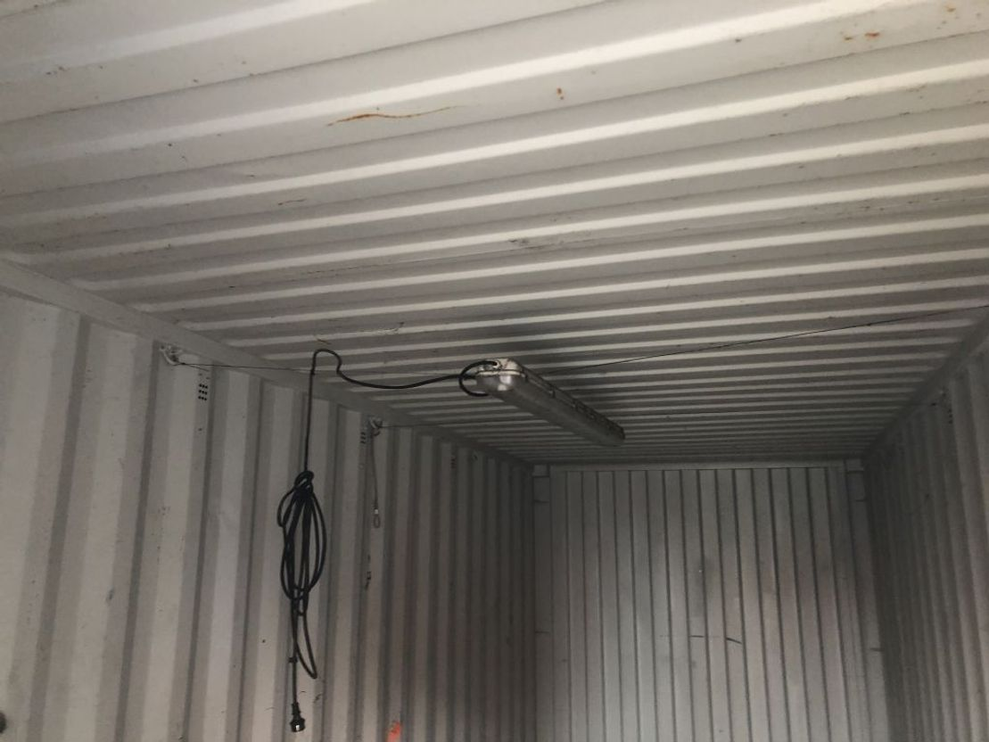 dry standaard zeecontainer CIMC 20 ft dryvan