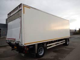 gesloten opbouw aanhanger Pacton AXZ220 2 As Vrachtwagen Aanhangwagen Gesloten, WY-77-SK 2000