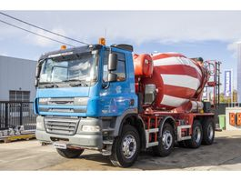 betonmixer vrachtwagen DAF CF 85 410 + STETTER 2011