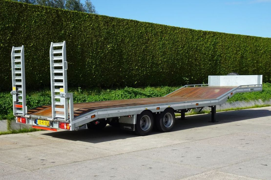 semi dieplader oplegger Veldhuizen 10,0-tons Semi-dieplader oplegger GERESERVEERD 2020